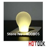 Wholesale Pocket Wallet led card Light christmas gift lamp portable Led card flashlight hotook x