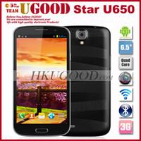 Android 2G 1920x1080 6.5Inch Quad Core Smart Phone Star U650 MTK6589T 1.5GHz Phone Pad 2GB RAM 32GB ROM 13Mp Camera FHD Screen Ulefone Phablet