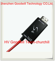 Wholesale Personal use samples For Samsung Galaxy S4 S3 Note Note FT P Micro USB MHL to HDMI Cable adapter HDTV length m churchill
