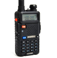 Lowest price Walkie Talkie UV- 5R Free shipping BF- UV5R 5W 12...