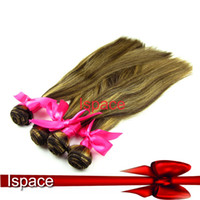 remy weave - 3pcs hair weaves with two tone colors remy weave straight brazilian weaving color