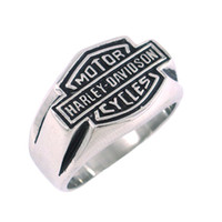 Wholesale Classic Biker Ring Stainless Steel Jewelry Motor Ring SJR330020