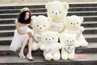 Unisex 3-4 Years Push Teddy Bear Plush Toys 70cm toys dolls plush dolls gift toys doll Heart Lovers gift toys
