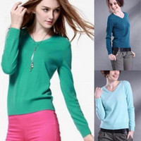 Women Cashmere Twinset 2013 Women's Brand Pullover Cashmere Wool Short Sweater Thermal Knitted Casual Slim Crochet Plus Size Jumper 16 Colors 6 Size