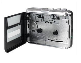 Wholesale New Arrive Fashion Hot USB Cassette Capture Recorder Radio Player Tape to PC Super Portable USB Cassette to MP3 Converter