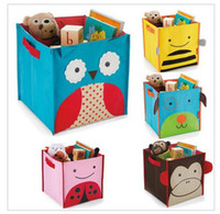Wholesale 2014 Retail Bees Storage Box for toys Zoo Animal Storage Bins Ladybug Storage Organizar D226