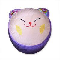 Wholesale Retail Super Cute Lucky Cat Cartoon Inflatable Stool Animal Shaped InflatableStool