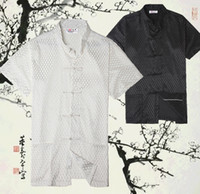 dress shirt for men - new sale chinese shirt chinese traditional clothing for men chinese kung fu uniforms kungfu shirt hanfu color JY074