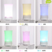 Wholesale Fashion Ultrasonic Color Rainbow LED Aroma Diffuser Air Humidifier Aromatherapy Purifier Mist Maker For Home Office