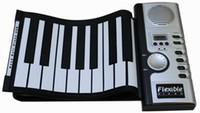 Wholesale Gift Idea New Keys MIDI Digital Roll Up Soft keyboard piano Register