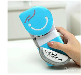 Wholesale Fashion USB Mini Hand Held Fan Mini Portable Hand Held Air Conditioner Handy Cooler