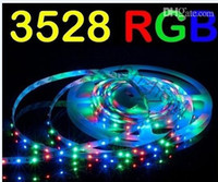Wholesale SMD Leds M Waterproof RGB Flexible Led Strips Light V Leds Keys IR Remote Control V A Power Supply EU US UK AU Plug