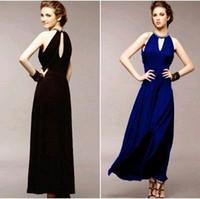 Wholesale New Style Hot sale wild Fashion sweety princess summer Hitz elegant lady sexy summer hollow Slim evening gown dress