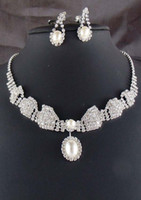 artificial wedding jewellery - Artificial bridal jewelry sets bridal jewellery pearl wedding jewelry set diamond wedding jewellery crystal crown necklace earrings