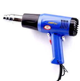 Wholesale professional blue electric hot air heat gun industry dryer Watts don t blow hair hand skin etc