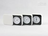 Wholesale 5pcs Folding Thermometer Hygrometer Alarm Clock Sample Stair Clock