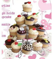 ECO Friendly cupcake stand - 4 tier Tower Cupcake Tree Cupcake Stand Dessert Birthday Baby Bridal Shower Party quot NEW
