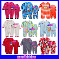 Wholesale baby bodysuits baby rompers baby clothing baby boy girls long section of the animal pattern romper newborn clothing set HY2742