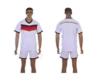 Wholesale Germany national team home jersey World Cup kit embroidery logo football jersey free Customize name number Mix order