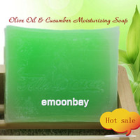 Wholesale Handmade soap Olive Oil amp Cucumber Moisturizing Soap g