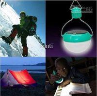 Wholesale Waterproof Light Sensation Novelty LED Solar Outdoor Camping Lamp