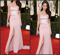 Cheap 2014 ELIE SAAB chiffon prom dresses , Beading one shoulder Megan Fox 2014 Golden Globes Awards evening dresses 2014