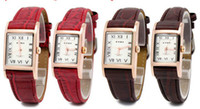 Wholesale New arrival fashion vine Lovers Watches for women ladies quartz watch with leather band colors Brand EYKI