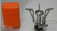 Wholesale Mini quot Gas Powered Butane Propane Picnic Camping Stove