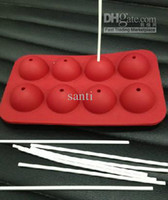 Cookie Moulds baking tray cookies - Silicone CAKE POP moulds molds baking tray birthday party chocolate mould cake mold set sticks