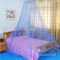 Wholesale ROUND foldable Bed Curtain Netting Canopy Mosquito Net Graceful Elegant Summer Hot Selling