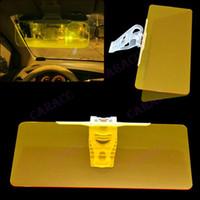 Window Foils & Solar Protection Front Window Solar Protection 6828# New Sun Visor Extension Clip Shield Auto Anti-glare Car sunglasses Sunshade Adjustable For Driving (SD - 2301) Yellow 6828