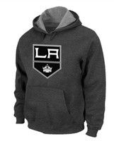 Ice Hockey big king xxl - 2014 Fashion Sport Hoody Newest Kings Big Tall Logo Pullover Hockey Hoodies Dark Grey No Brand Name Hoodies Good Quality Cheap Mens Hoodies