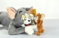 Wholesale Tom and Jerry Soft Plush Stuffed Doll Toy cm New
