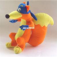 Wholesale Stuffed Animals Cute Dora the Explorer quot Swiper Fox Kids Plush Dolls Toys Retail