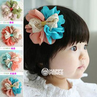 Barrettes Blending Floral Children New Barrette Baby Cartoon Jewelry Barrettes Hair Pin Flower BB Clip