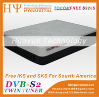 Wholesale digital satellite receiver vivobox Tocom Free s928s with IKS sks decoder nagra3 stable than azbox hd tocomsat