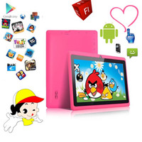 tablet pc touchscreen - Q8 Q88 quot Inch Allwinner A13 Tablet PC Android Dual Camera GB MB Capacitive Touchscreen WIFI MID IRULU Kids Tablet