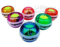 Wholesale Power Gyroscope LED Wrist Strengthener Ball Speed Meter
