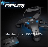 USB 2.0 active hubs - Roccat Apuri Active USB Hub with Mouse Bungee Mouse cord holder Mouse cord clip Brand New In Box amp Original Free shiping