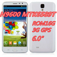6.0 Android 1G . N9600 Smartphone Android 4.2 3G GPS MTK6589T Quad Core 6.0 Inch HD Screen RAM1G ROM16G N9000 Note3