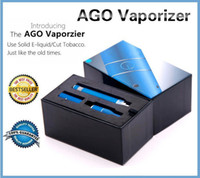 Electronic Cigarette Set Series white Top quality ago G5 dry herb vaporizer pen vapor cigarettes kits dry herb atomizer LCD Display Ago G5 pen E Cigarette herbal AGO vaporizer