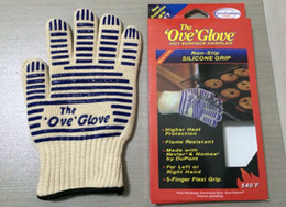 Free shipping 50pcs lot Ove Glove Microwave oven Glove Heat Resistant Cooking Heat Proof Oven Mitt Glove Hot Surface Handler