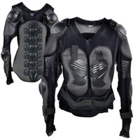 Wholesale 2014 Hot Sell Racing Motocross Motorcycle Full Body Armor Spine Chest Protective Jacket Gear Size XL TK0544