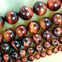 Wholesale 6mm mm Round red tiger eye Bead Strands Strands