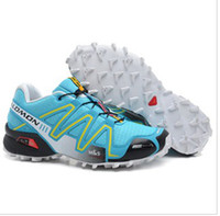 Unisex PU PU 2014new athletic Solomon outdoor shoes sneakers cross-country running shoes for men and women shoes waterproof hiking boots sky blue