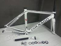 Wholesale T1000 white black colnago M10s full carbon road frame fork seatpost headset clamp carbn frameset bicycle frame road bike