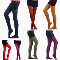 Wholesale Nylon Silk Stockings Candy Color Stretchy Tights Socks Leggings Women Girl Pantyhose