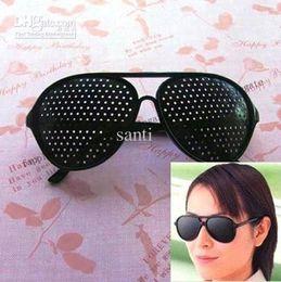 Wholesale Eyes Exercise Black Pinhole Glasses Vision Eyesight Improve