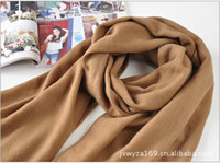Wholesale Fashion Long Soft Wrap Scarf Khaki Knitting Cashmere Scarf Hot Shawl