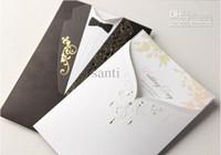 al por mayor invitaciones de boda imprimibles novias-Invitación personalizada de la boda de la novia del novio (juego de 50)